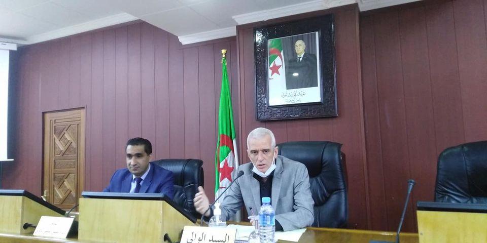 اجتماع اللجنة المكلفة بالتحضير للعملية التضامنية لشهر رمضان