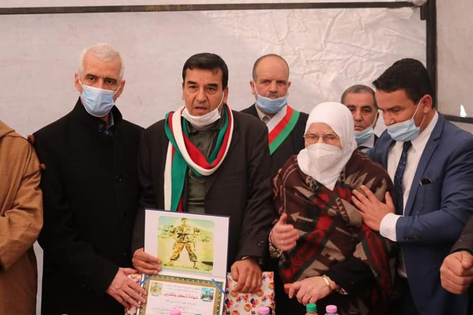 مراسم احياء الذكرى 63 لاستشهاد الرائد سعيد مقراني المدعو سي لخضر