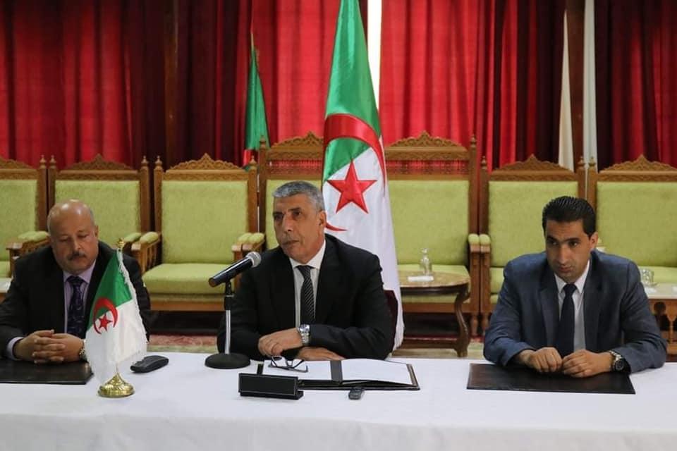 تنصيب الأمين العام للولاية الجديد السيد بوراس عيسى عزيز خلفا للسيد محمد مرزوقي