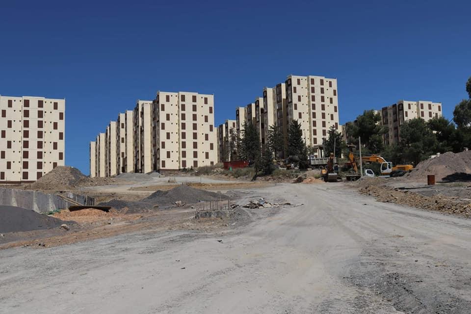 معاينة مشروع 2332 مسكن بعين الجردة