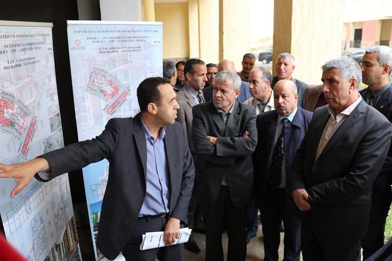 LPP زيارة عمل وتفقد إلى مشروع 194 سكن بصيغة