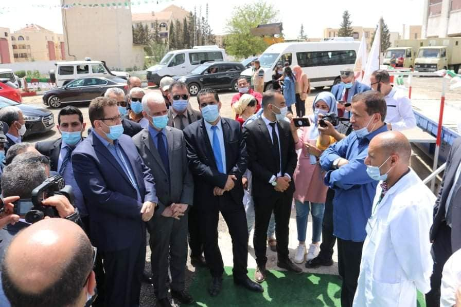زيارة تفقدية لبني سليمان للسيد عبد الحميد حمداني وزير الفلاحة والتنمية الريفية