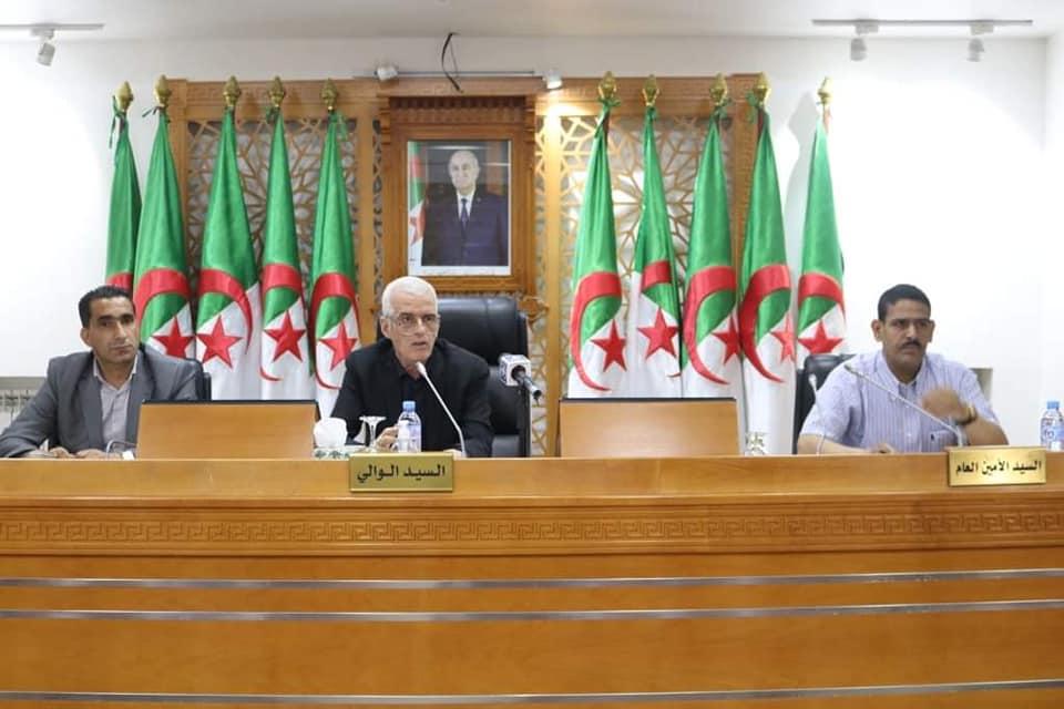 اجتماع المجلس الولائي بتاريخ 17 ماي 2021