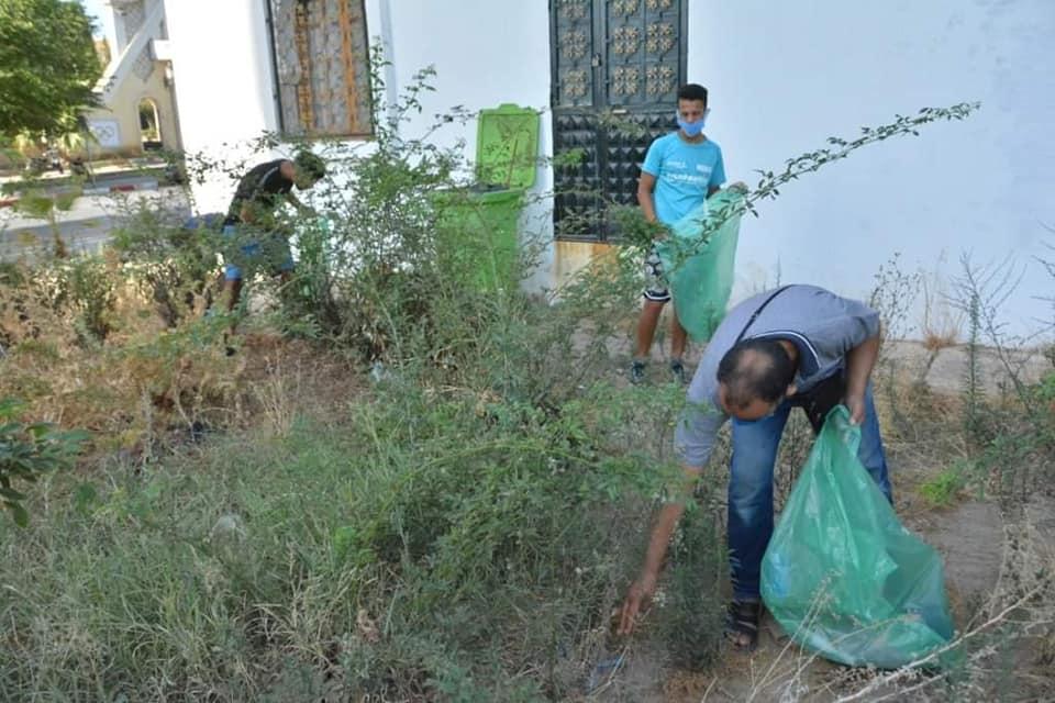 حملة النظافة وتطهير المحيط في بلدية المدية