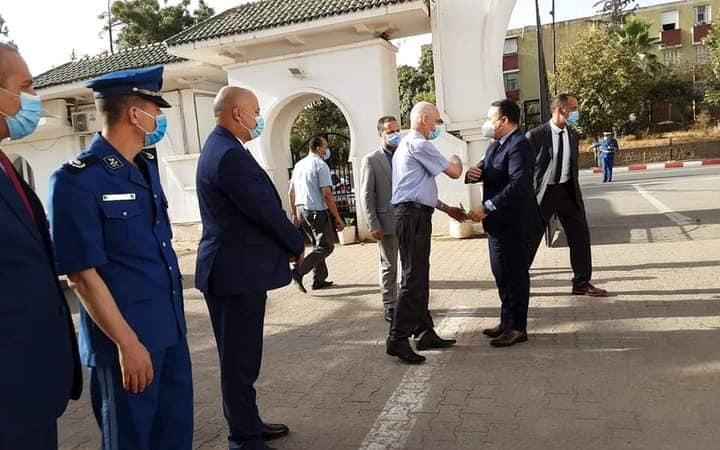 زيارة المدير العام لمجمع سونلغاز السيد شاهر بولخراص لولاية المدية