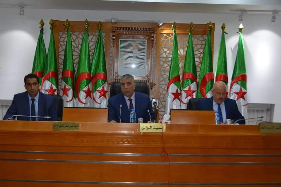 اجتماع المجلس الولائي